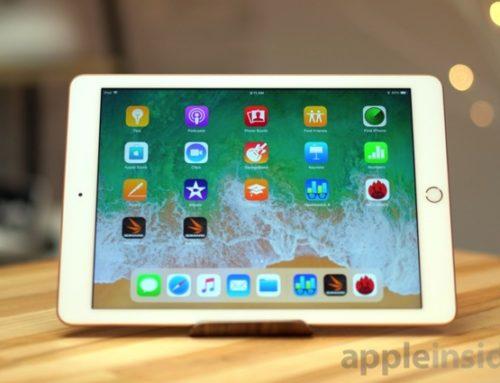 l'iPad 2018: la tablette grand public par excellence