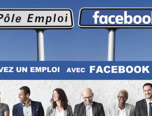 Facebook lance un onglet  «EMPLOI» pour faire baisser le chômage