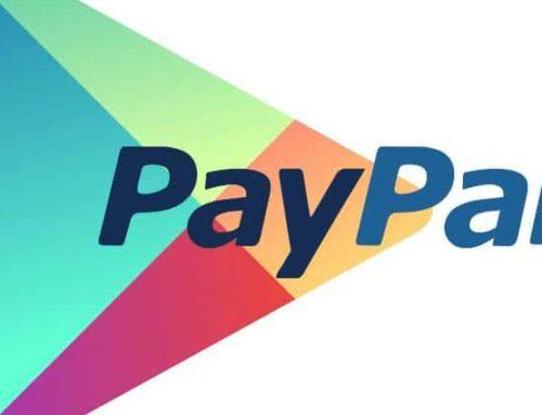 Payez directement dans tout l'écosystème Google grâce a votre compte paypal