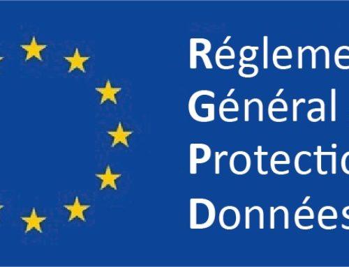 Le RGPD est là! le nouveau règlement européen..