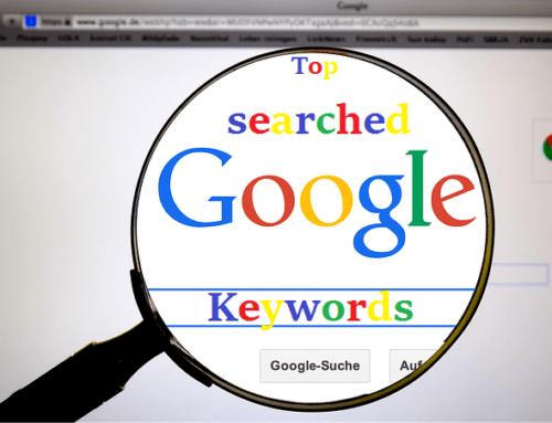 Vos mots-clés affichés dans google chrome